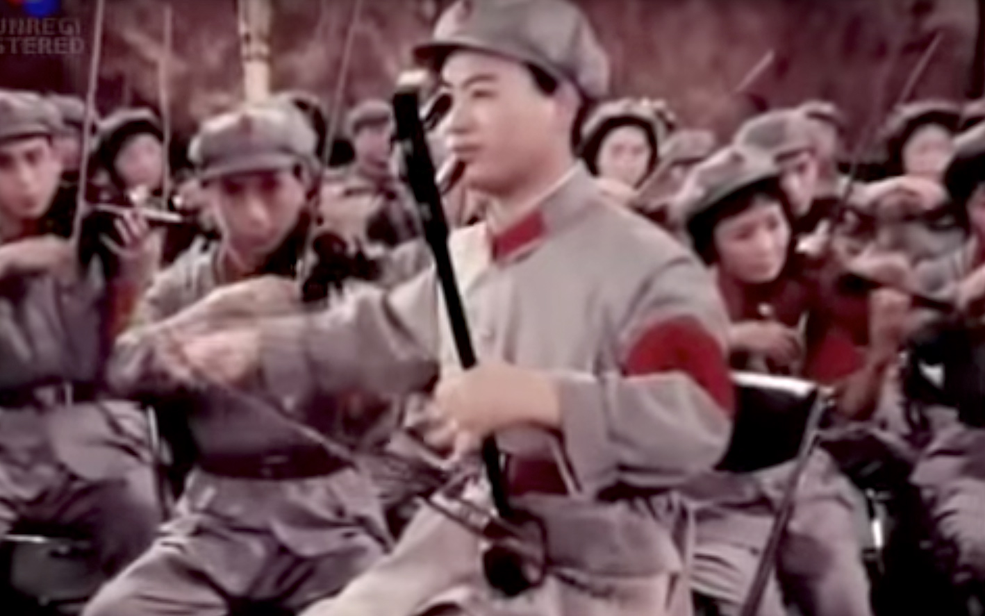 Chinese People's Party Orchestra play 'Beat it'