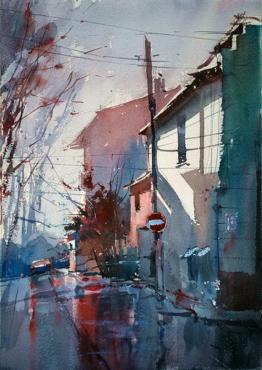 Eugen Chisnicean Watercolors