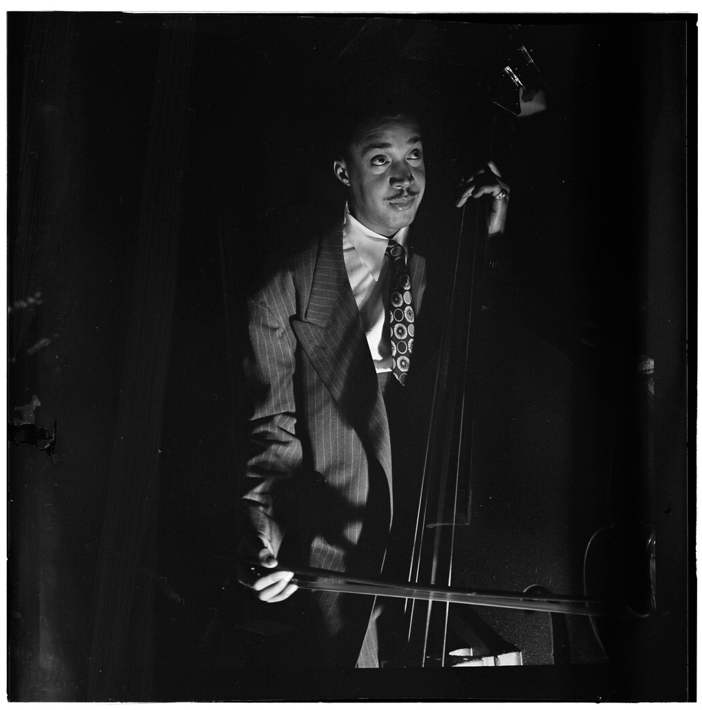 Portrait of Slam Stewart, Three Deuces(?), New York, N.Y., ca. Sept. 1946