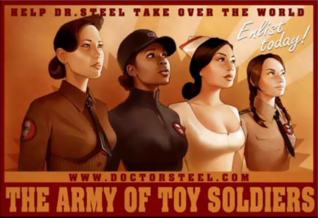 Dr. Steel's Army of Toy Soldiers 02