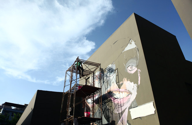 New Murals From Alexandros Vasmoulakis in Shenzhen, China