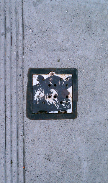Found Graffiti #42 — Mooo!