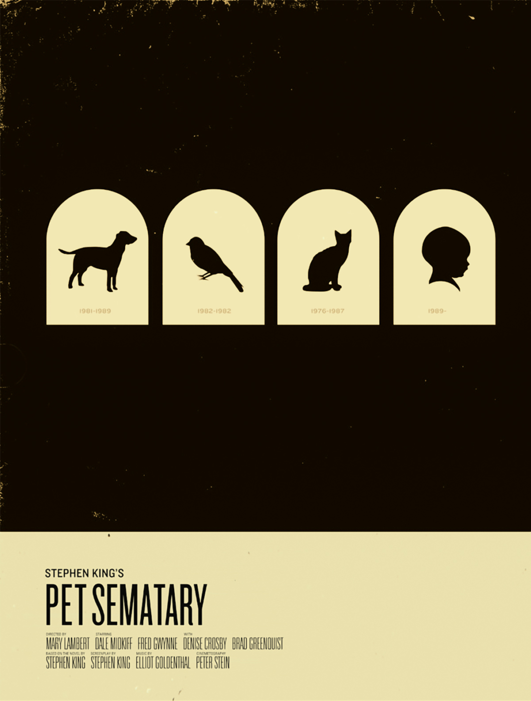 Stephen King Posters Pet Sematary