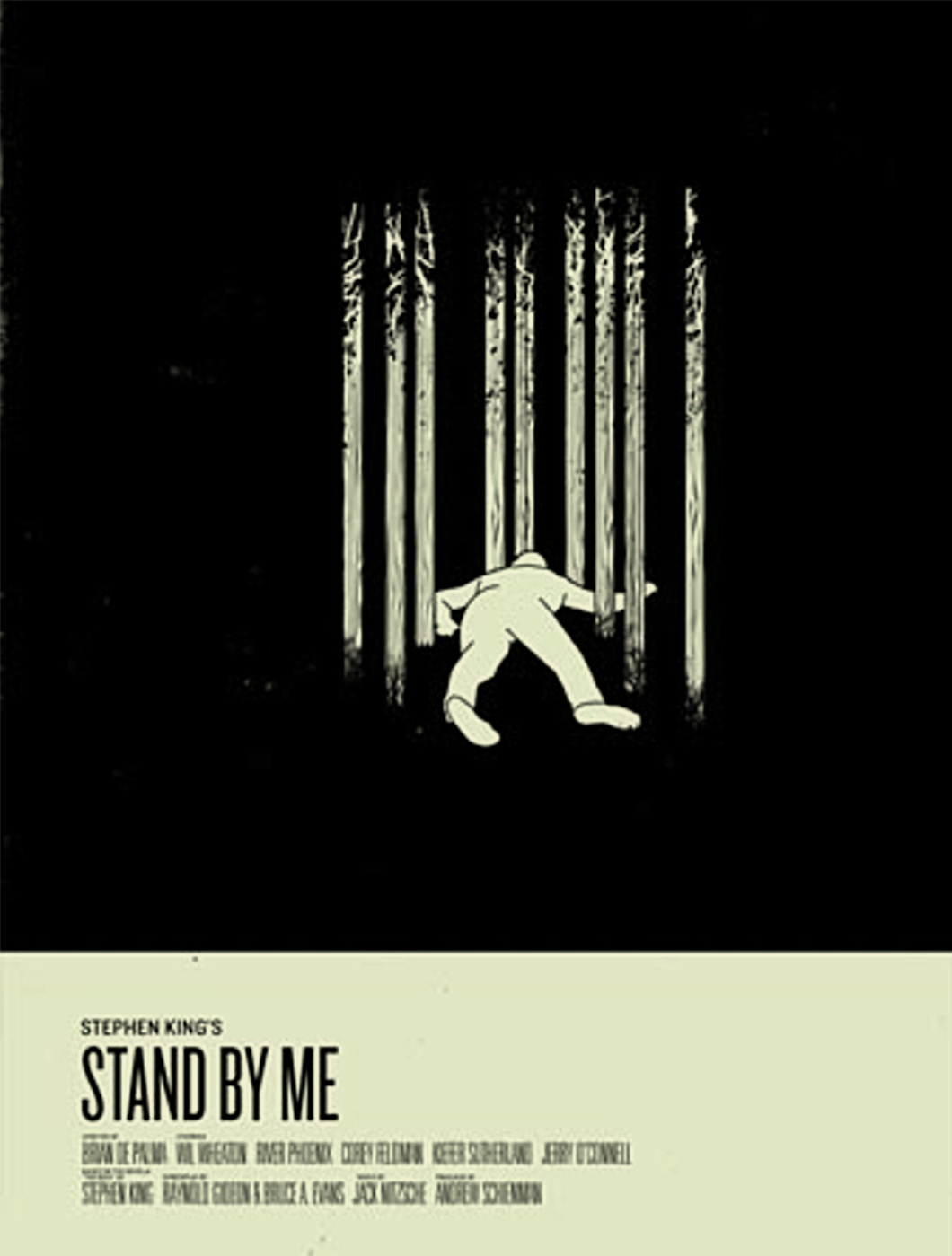 Stephen King Posters Stand By Me