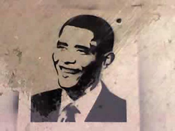 Found Graffiti #12 — Obama!