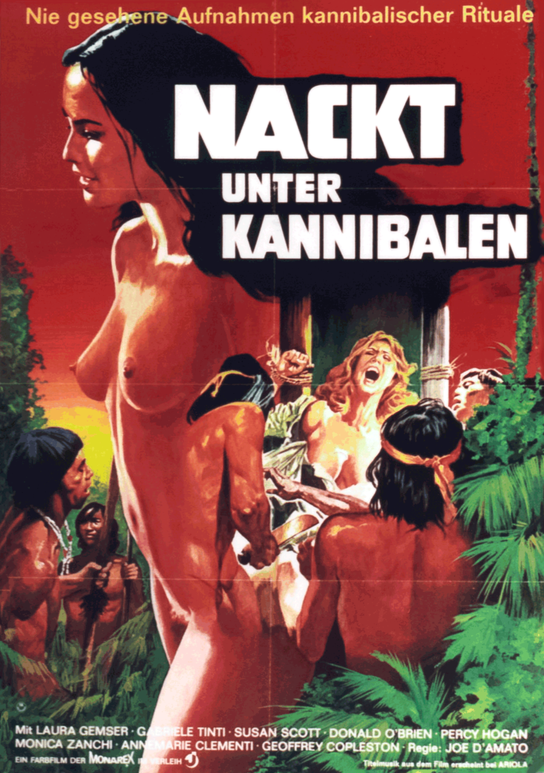 6 Cannibal Themed B-Movie Posters