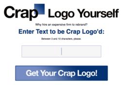 Crap logo yourself…