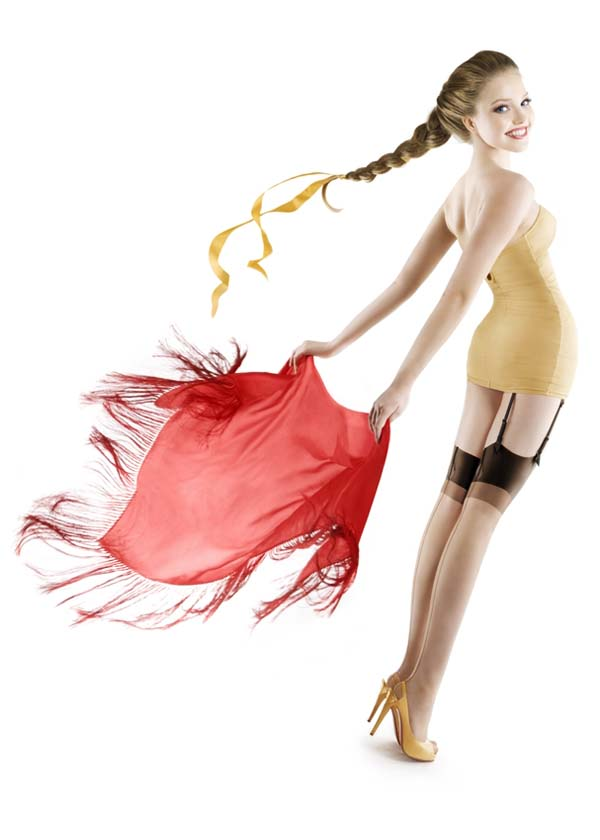 Irina Davis — Russian pin-up girls 12