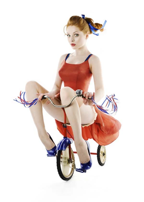Irina Davis — Russian pin-up girls 1