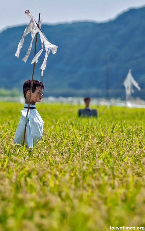 Sinister Japanese Scarecrows