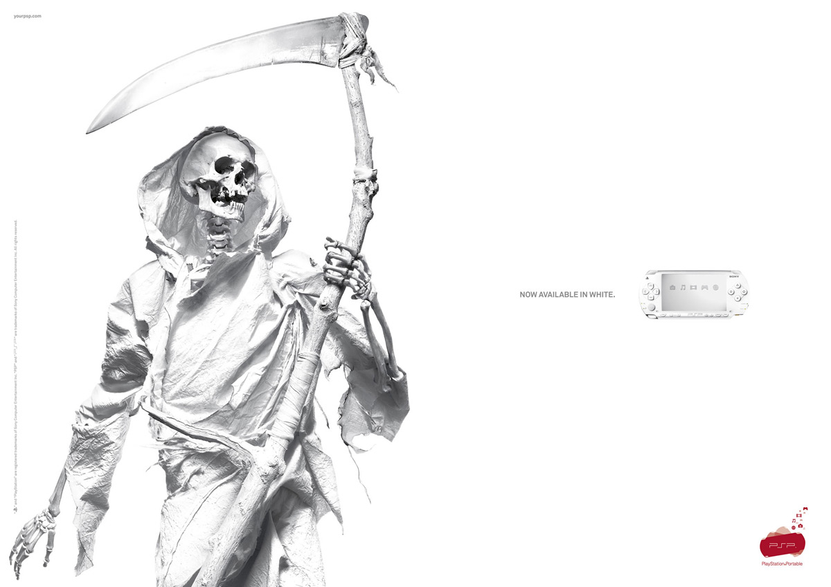 Collection of Sony PlayStation Print Ads