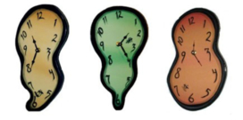 Melting Wall Clocks