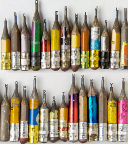 Dalton Ghetti miniature pencil tip sculptures