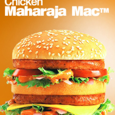You know what they call the Big Mac in India?