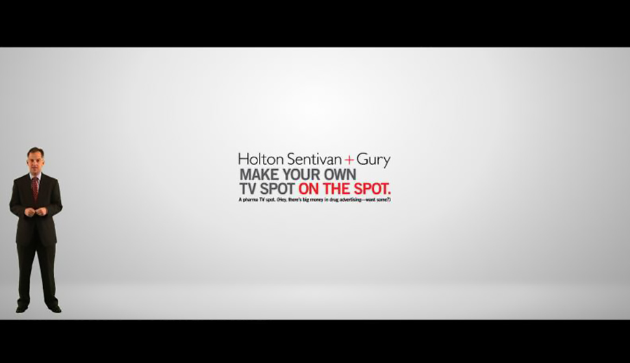 Make your own Pharma tv spot