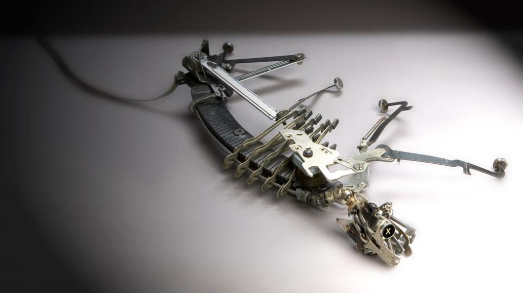 Jeremy Mayer Typewriter Sculptures 02