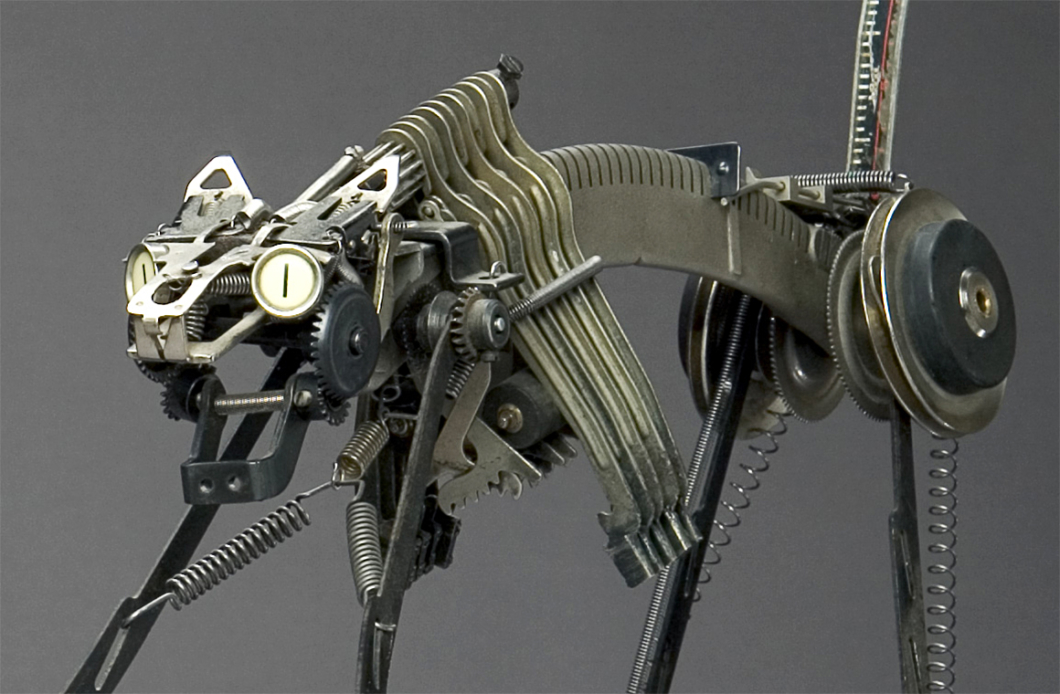 Jeremy Mayer Typewriter Sculptures 03