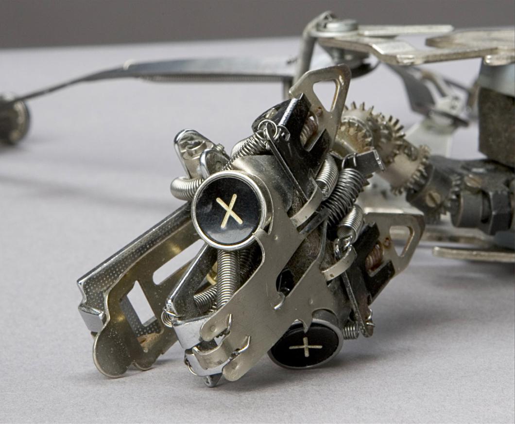 Jeremy Mayer Typewriter Sculptures 04