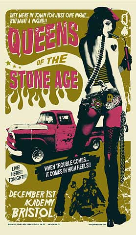Queens of the Stone Age posters 06