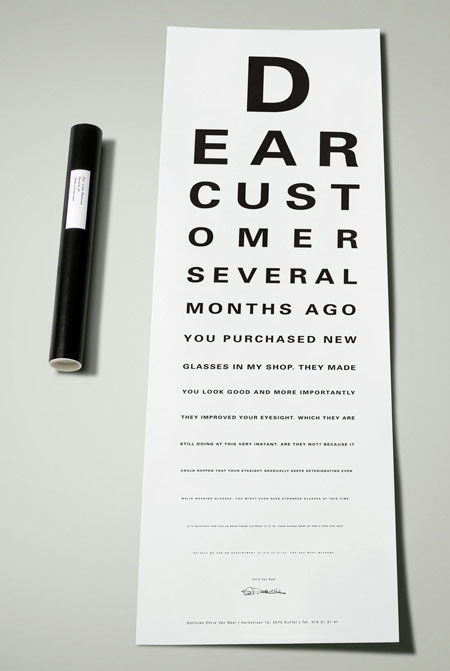 Ads for Eyeglasses and Opticians