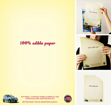Fiat — Offer valid until supplies run out. Eat this ad.