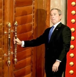 George Bush In China