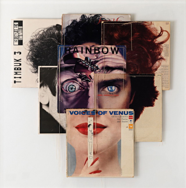 Christian Marclay Album Cover Mashups