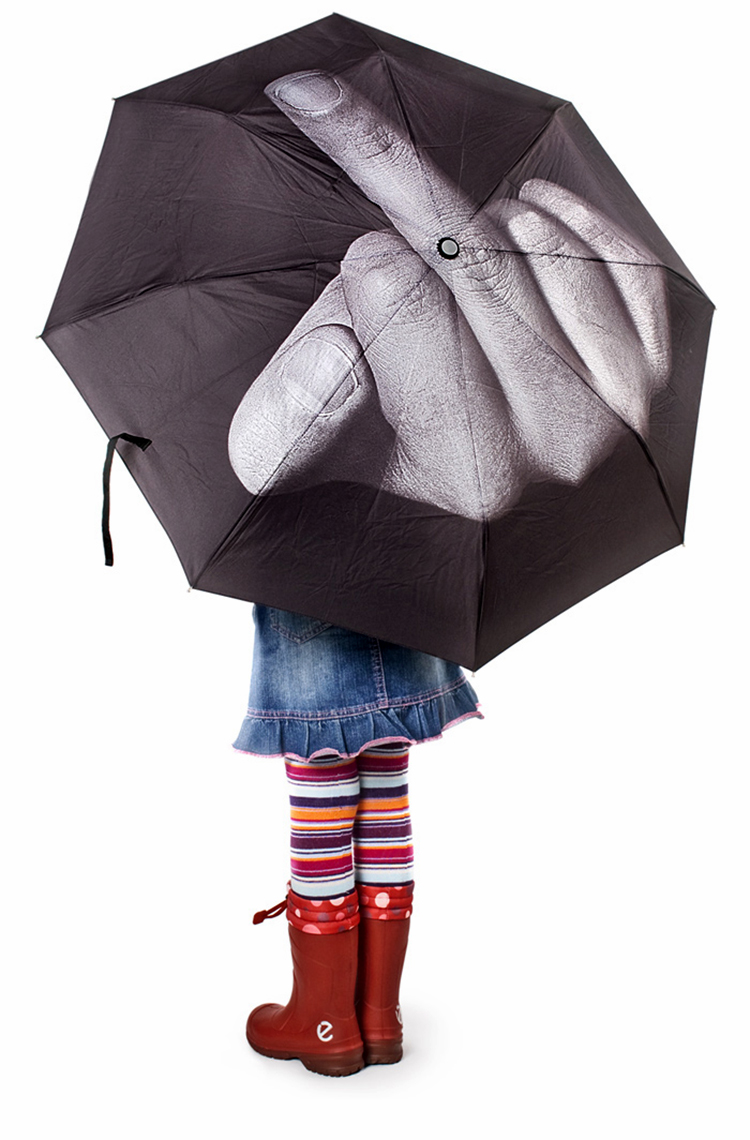 Fuck The Rain Umbrella 01