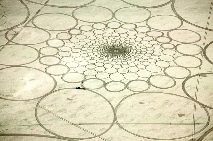 Jim Denevan – The Earth is his Canvas- Black Rock Desert 06