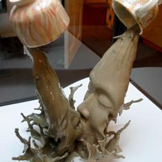 Coffee Face Kiss — Excellent sculpture