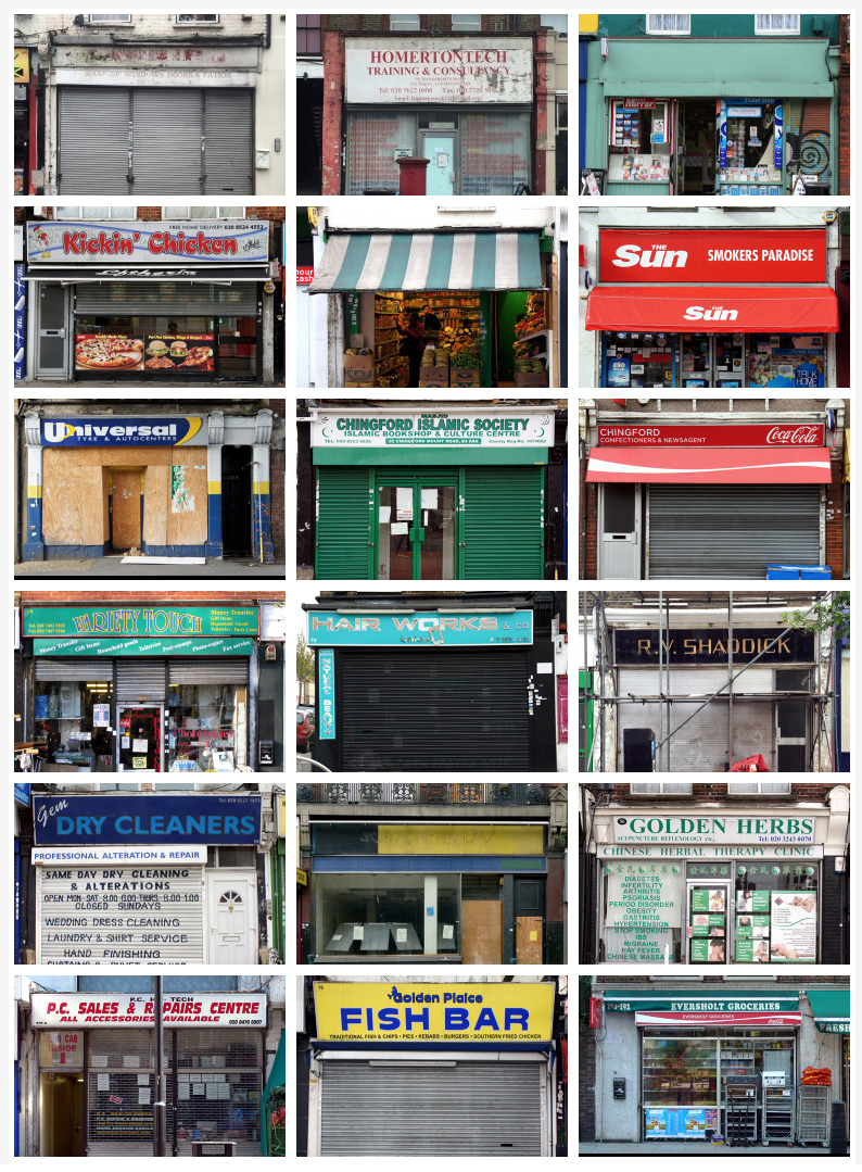 London Shop Fronts — A nice tumblr