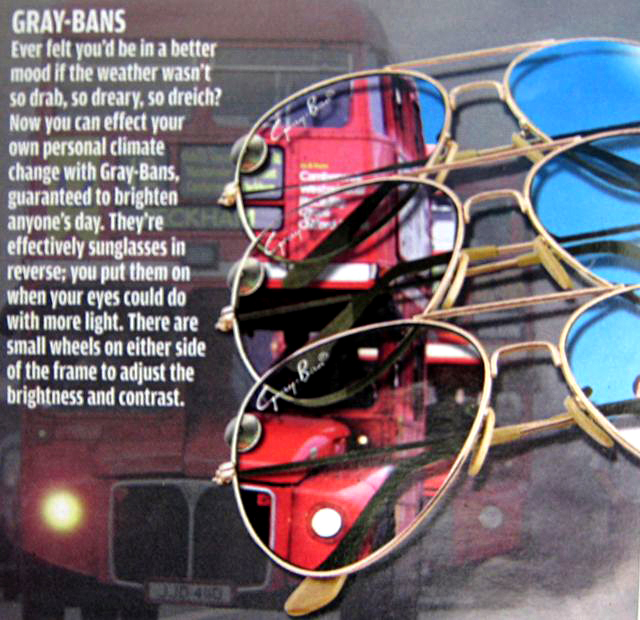 Gray-Bans Reverse Sunglasses