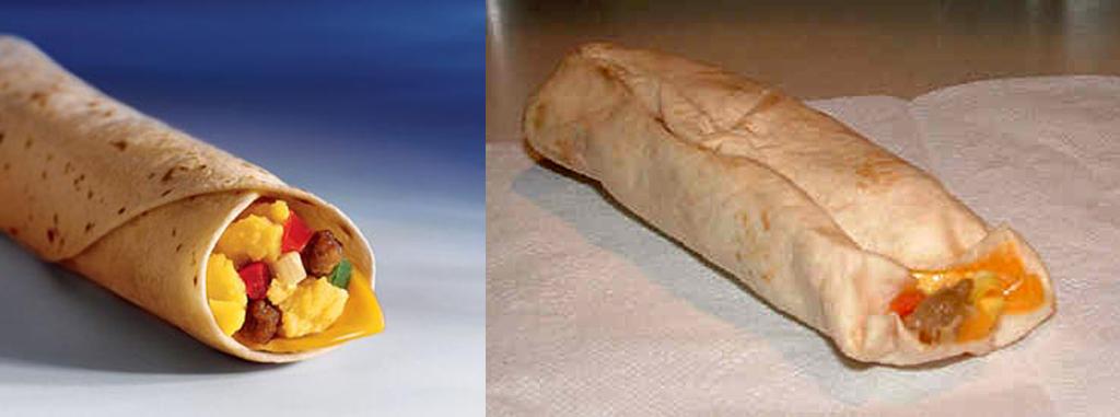 Fast Food: Ads vs. Reality