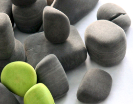 Canadian designers make felt rocks and soft blocks