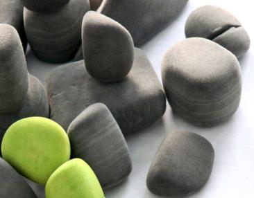 Canadian designers make felt rocks and soft blocks
