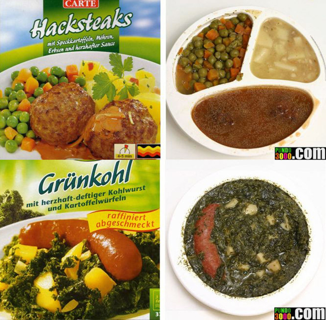 Food Ads vs. The Actual Food
