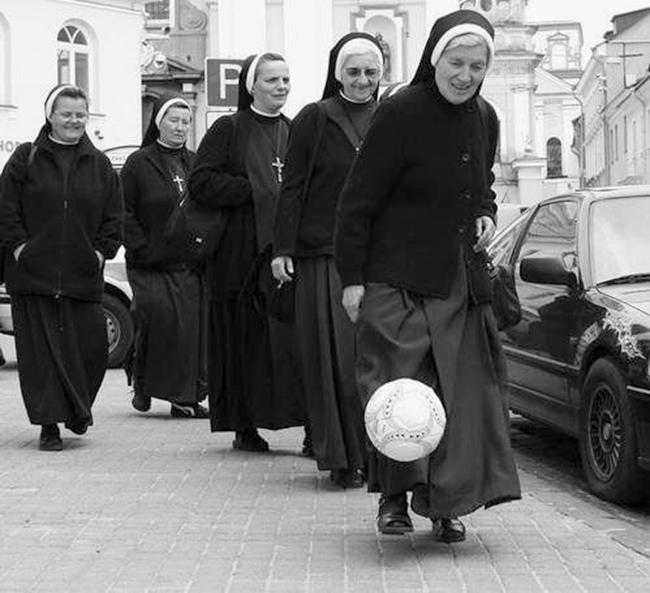 Nuns, Guns and Seminary Girls