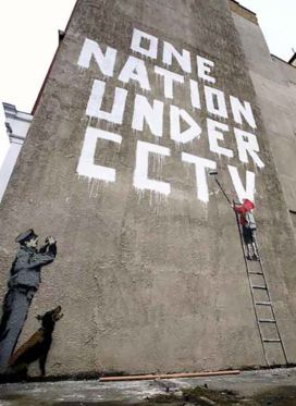 Graffiti artist Banksy pulls off audacious stunt