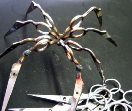 Stainless Steel Scissors Spiders