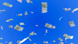 Yen and Euros fall from sky. Can Dollars be far behind?