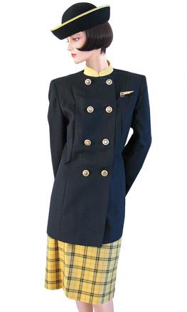 Air Hostess Uniforms: Monarch Airlines