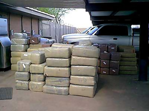 Anyone got space to store 2 tons of marijuana?