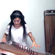 AC/DC – Back in Black Gayageum cover by Luna