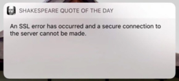 Shakespeare Quote of the Day