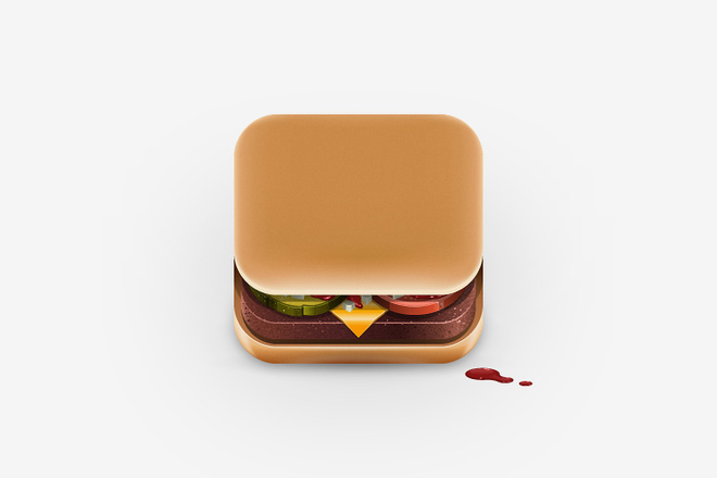 iPhone Food App Icons on Behance