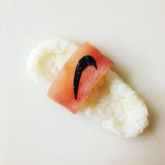 Milan-based chef and artist Yujia Hu 'Shoe-shi' (Sushi sneakers)