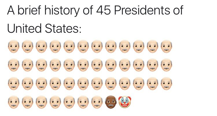 Brief History of 45 presidents
