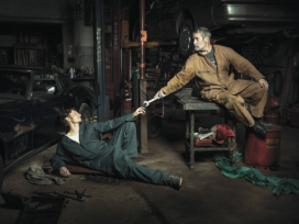 Mechanics Recreate Renaissance Paintings