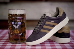 Adidas beer repellant shoes Oktoberfest