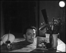 Salvador Dali Portraits by Phillipe Halsman — 1958